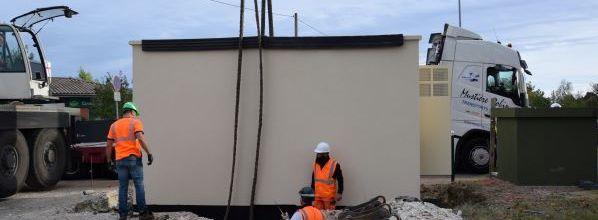 Pose d'un 2ème nœud de raccordement optique (NRO) dans le Tarn-et-Garonne à Montech