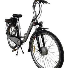 Essai de vélo à assistance électrique...