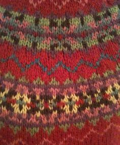 fairisle pattern ~ T