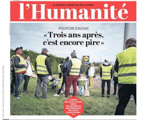 La une de la presse quotidienne nationale ce mercredi 27 octobre.