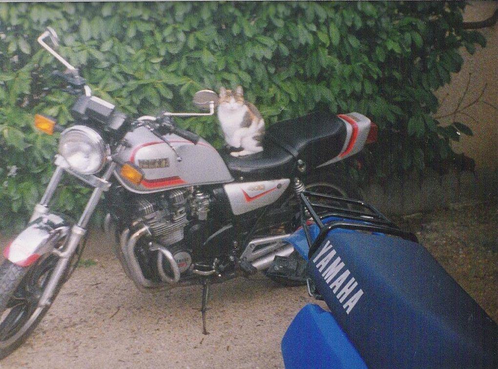 Nathalie et ses motos