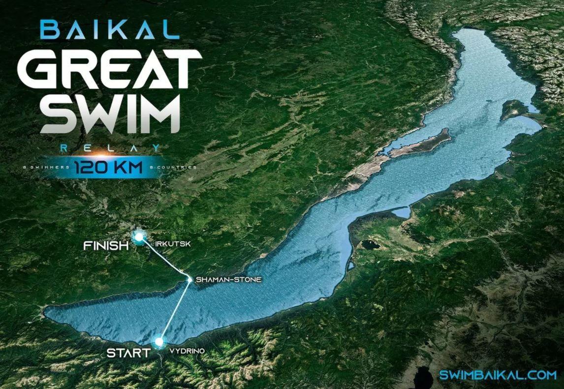 Baikal Great Swim - Le Lac Baïkal accueille une compétition hors du commun