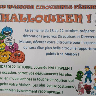Les Maisons citoyennes fêtent Halloween !