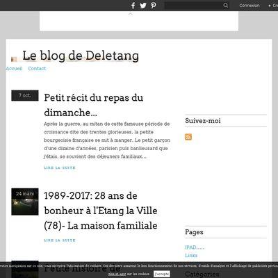 Le blog de Deletang