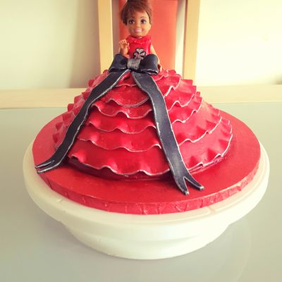 Dolly cake - marbré