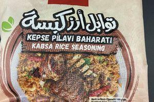 Rappel de HS Produit : 'kabsa rice seasoning' (condiment pour riz) de la marque B&H.