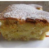Gâteau moelleux aux pommes - www.sucreetepices.com