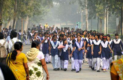 INDE : le lieu ou Ghandi est incinéré