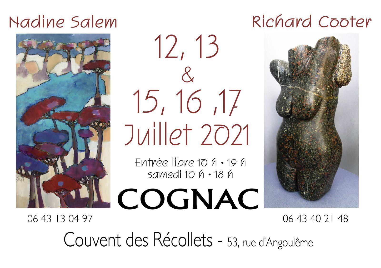 Images et sculptures récentes! Ouvert aussi le 14 juillet!