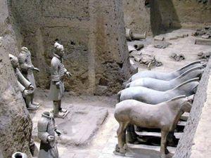 XI'AN et l'armée enterrée