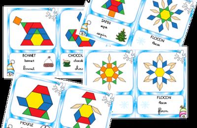 Hiver : Modèles de formes géométriques