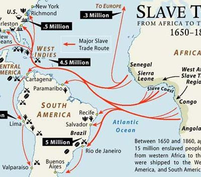 5 enlightening facts about Atlantic slave trade