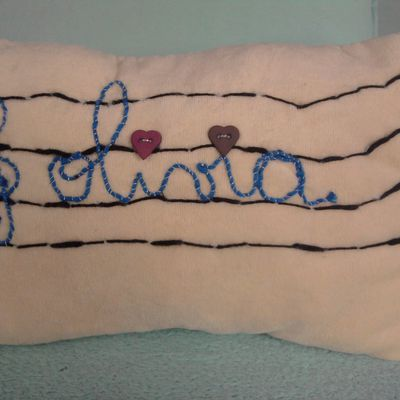 """coussin """"olivia"""""""
