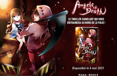 Angels of Death annoncé en manga !