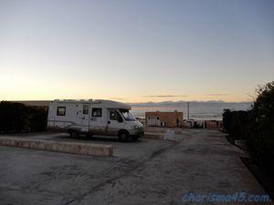 Camping de la plage de la Bhaibah (Maroc en camping-car)