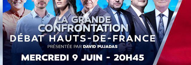 La Grande Confrontation : Débat Hauts-de-France en direct de Lille ce soir sur LCI