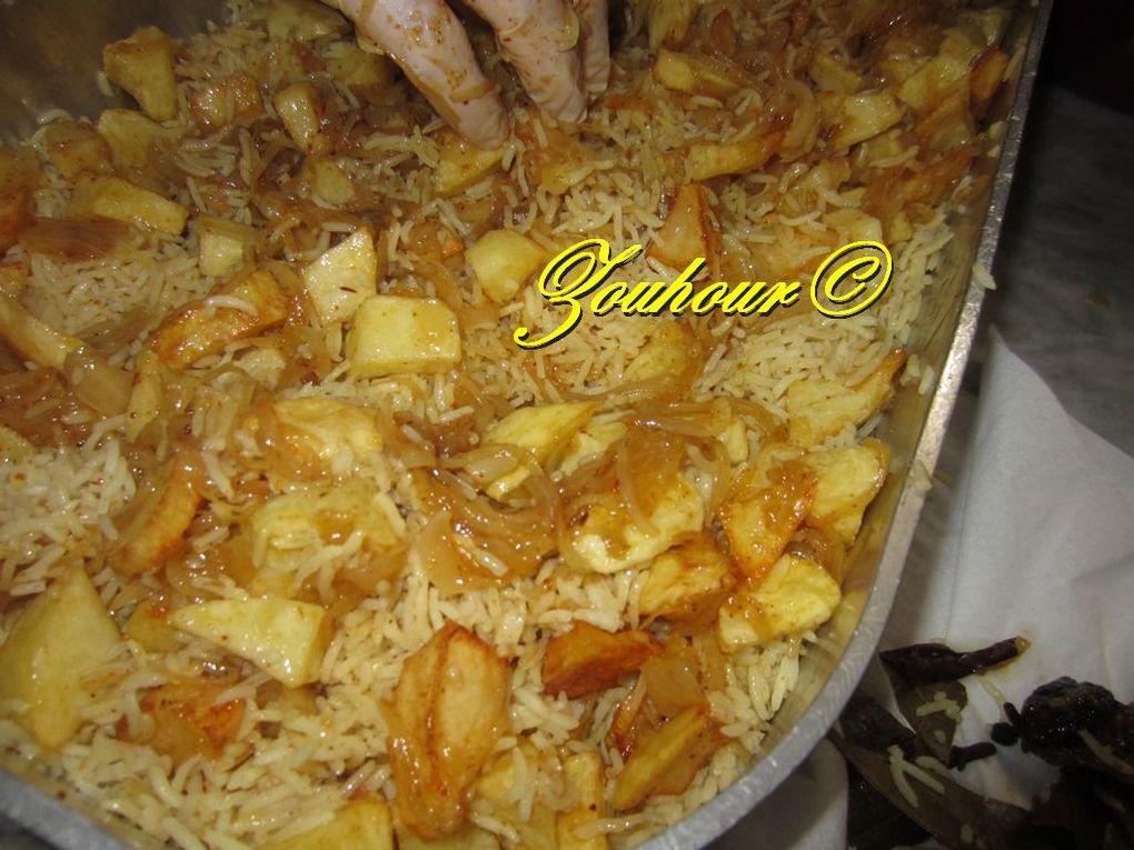 Biryani au poulet.