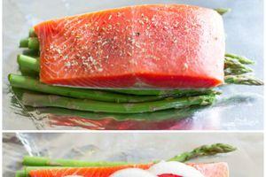 Foil Baked Salmon -