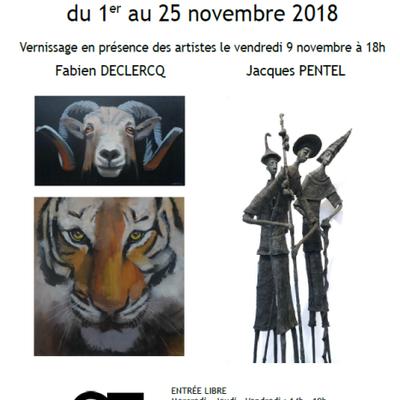 Une expo avec Jacques Pentel, sculpteur