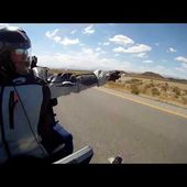 Goldwing Unsersbande - direction Needles sur la Us 40