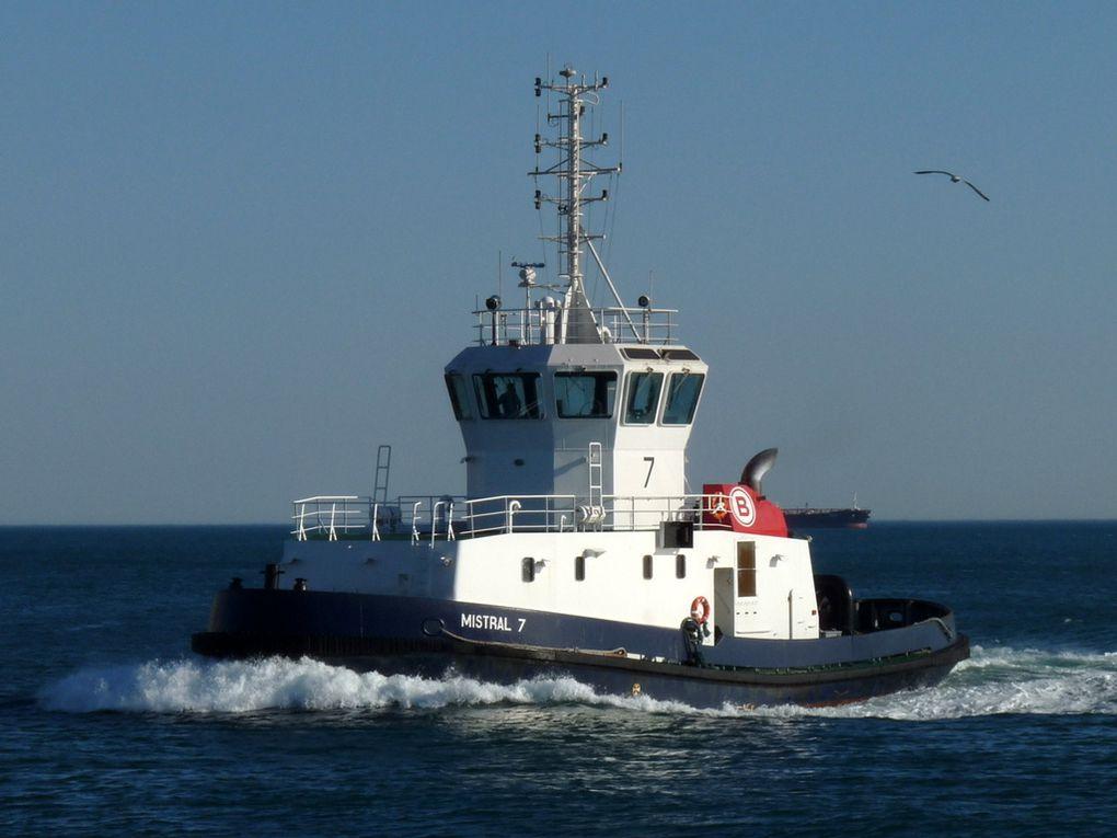 MISTRAL 7 , remorqueur  de Port de Bouc / Fos sur Mer