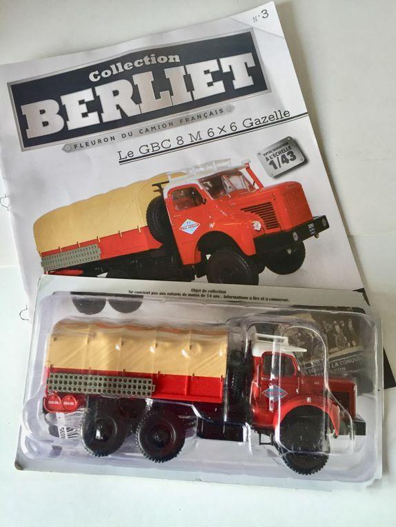 Diaporama : le Berliet GBC 8 RM au 1/43 produit par Ixo pour Hachette (10 photos de Jérôme Hadacek pour Milinfo)