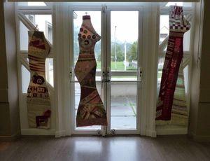 Exposition Luz St Sauveur Patchwork Art Textile 2014