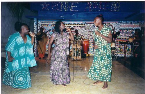 Chanteurs à Abidjan, Côte d'Ivoire
