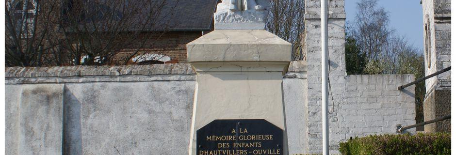 HAUTVILLERS-OUVILLE: son monument aux morts