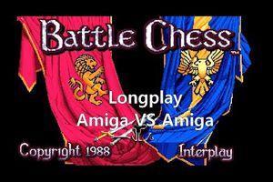 Amiga Longplay - Battle Chess (Amiga vs Amiga)