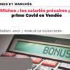 Fleury Michon : les salariés précaires privés de prime Covid en Vendée