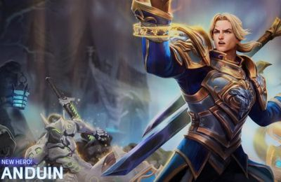Anduin est disponible dans Heroes of the Storm