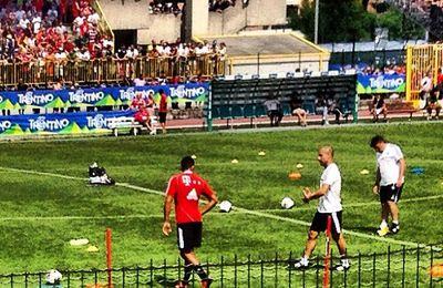 "Alessandro just checked in @ Campo Sportivo ""U.S. Arco"" (Arco, Italy)"