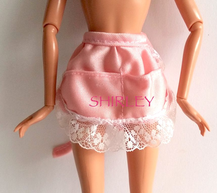 """""""HOME PRETTY"""" or """"SWEET ROSES"""" BARBIE DOLL CLOTHES 1989 MATTEL #2249 or #7635"""