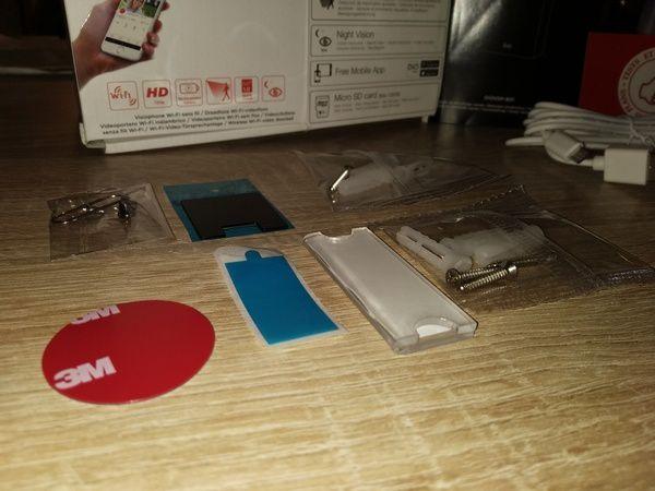 unboxing du visiophone portier vidéo HD 100% sans fil DiOCAM+ @ Tests et Bons Plans