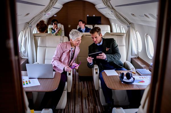 Inmarsat Jet ConneX Fifth Anniversary aerobernie