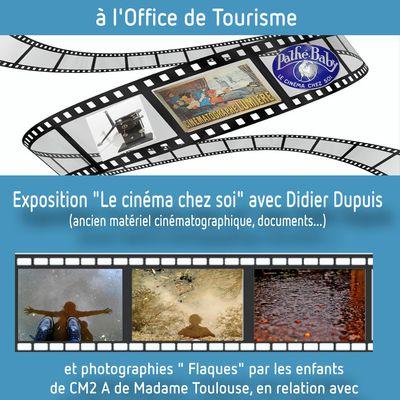 Expo à l'office du Tourisme de Rang du Fliers