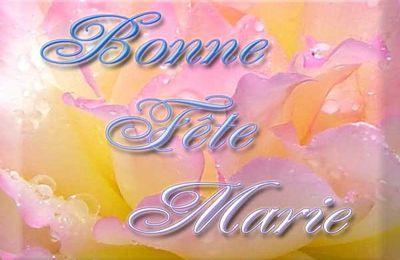 Bonne fête aux Marie...(le 15 Aout)