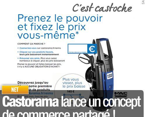 Castorama lance un concept de commerce partagé !