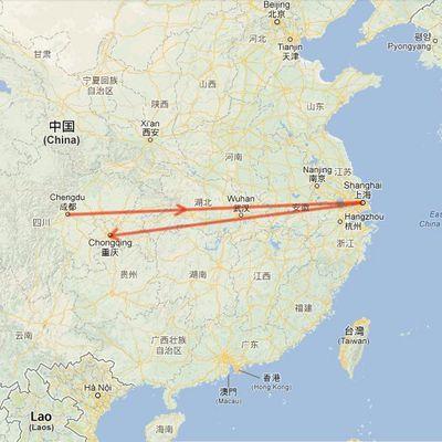 Chongqing, le Sichuan et Chengdu