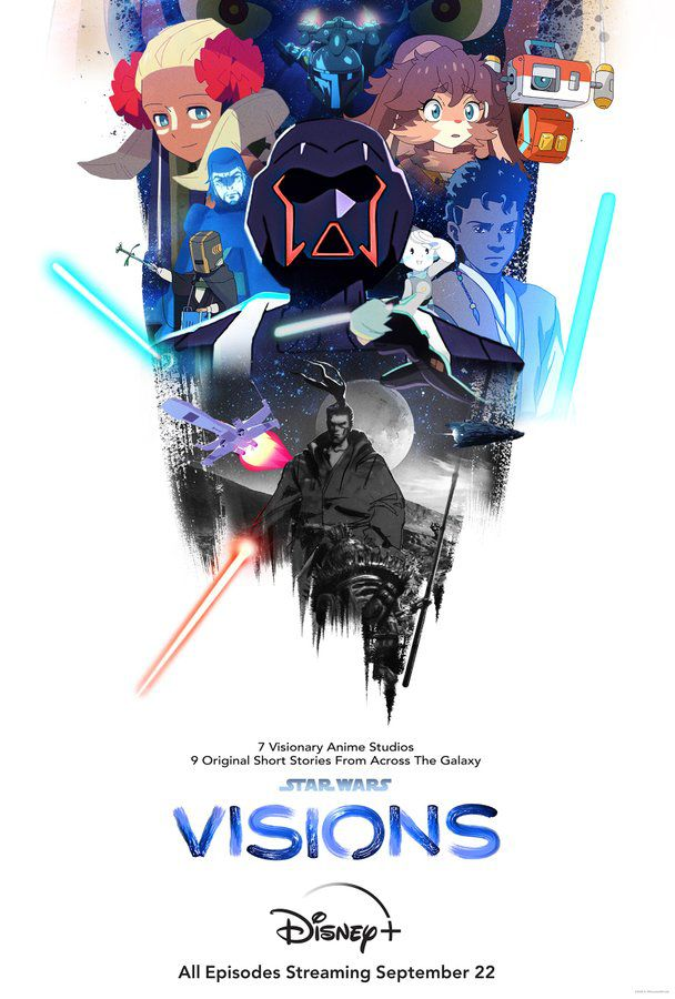 Affiches pour Star Wars Visions