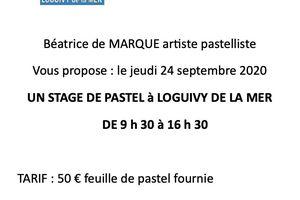 STAGE DE PASTEL