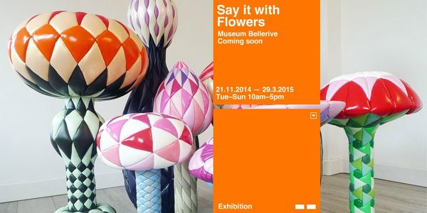 Say it with flowers - 21 november 2014 / 29 march 2015 - Museum Bellerive (Zürich)