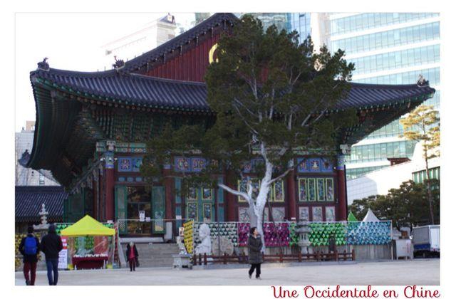 Le Temple Jogye-sa, Seoul