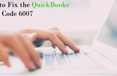 QuickBooks Error 6007