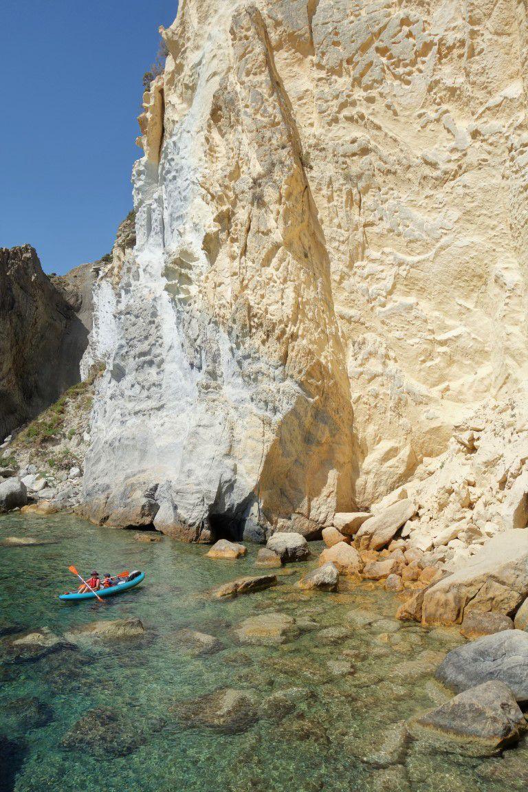 le kayak aux Pontines en magazine