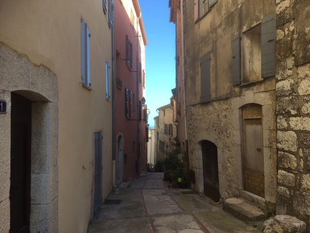 Chateauneuf-Grasse, ruelle