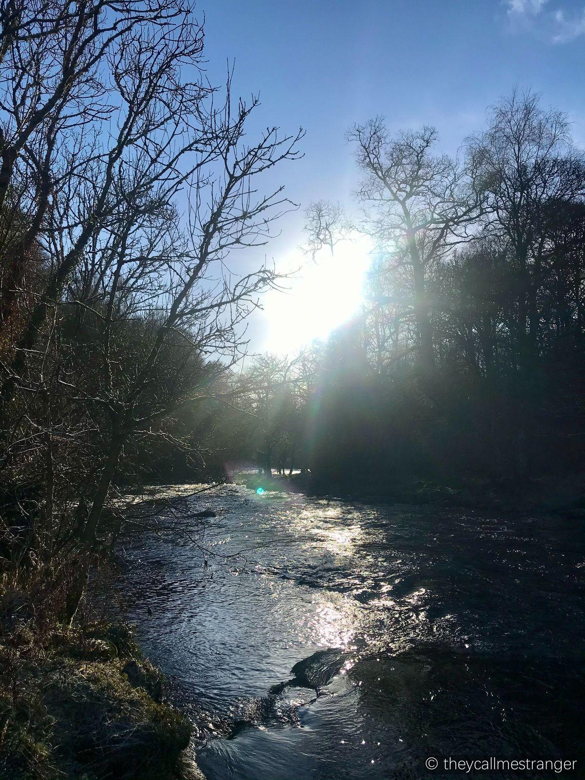 La randonnée du Darn Walk (Bridge of Allan-Dunblane)