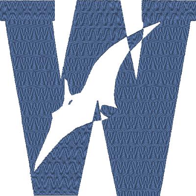 ABC dinosaure, la lettre W