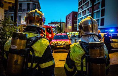 Perpignan (66) - Mobilisation rapide des pompiers pour éteindre l'incendie d'un coffre électrique